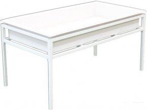 Fast Fit ocelový stůl 60x120cm