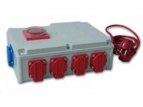 Davin DV-rozvodna 8x600W s časovačem + zasuvka na topení